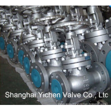Double Flange Straight Pattern Globe Valve